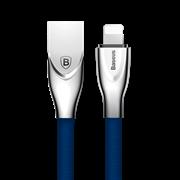 Кабель Baseus Zinc Fabric Cloth Weaving Cable USB For IP 2A 1M, Синий (CALXN-03)