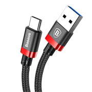 Кабель Baseus Golden Belt Series USB3.0 Cable For Type-C 3A , Красный (CATGB-19)