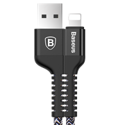 Кабель Baseus Confidant Anti-break Cable For IP 2A 1M , Черный (CALZJ-A01)