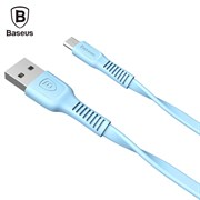 Кабель Baseus tough series cable USB For IP 2A 1M , Голубой (CALZY-B03)