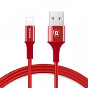 Кабель Baseus Shining Cable with Jet metal 1M, Красный (CALSY-09)