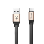Кабель Baseus Nimble Portable Cable For Type-C 2A 1.2M, Золото (CATMBJ-A0V)