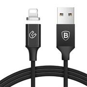 Кабель Baseus Insnap series magnetic cable For Lightning 1.2 M , Черный (CALNP-01)