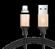 Кабель Baseus Insnap series magnetic cable For Lightning 1.2 M , Золото (CALNP-0V)