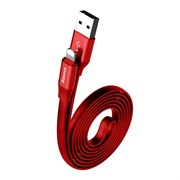 Кабель Baseus Two-in-one Portable Cable(Android/iOS)1.2M , Красный (CALMBJ-A09)