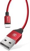 Кабель Baseus Yiven Cable For Apple 1.2M, Красный<N>(W) (CALYW-09)