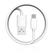 Кабель Baseus Yaven Lightning Cable For Micro 1M , Белый (CAMUN-02)