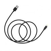 Кабель Baseus Simple Version of AntiLa Series MFI Metal Charging Cable 1.8M For Apple, Черный (CAETRTC-MFC01)