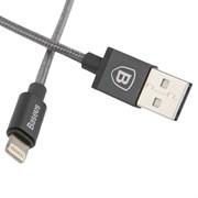 Кабель Baseus Simple Version of AntiLa Series MFI Metal Charging Cable For iPhone6 1M , Серый (CAETRTC-MFB0G)