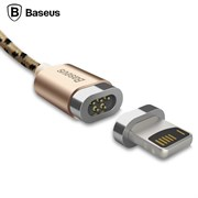Кабель Baseus Insnap series magnetic cable , Золотой (CALIGHTNG-LF0V)