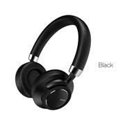 Беспроводные Bluetooth наушники Hoco W10 Cool Yin (Черный)