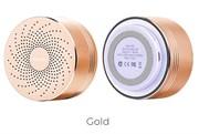 Беспроводная портативная колонка Hoco BS5 Swirl (Золото)