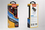 АЗУ LDNIO  DL-C22  2,1A 2USB ports + кабель usb V8 Micro 1000mm {black}