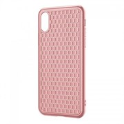 Чехол Baseus BV Case (2nd generation) For iP X/XS (2018) Pink (WIAPIPH58-BV04)