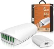 Сетевой USB LDNIO A6573 1000mm + 6USB Ports 5,4A