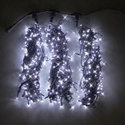 Светодиодная уличная влагозащитная гирлянда Sub-K LED Q30, IP66,  flash, (цвет холодный белый).