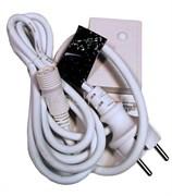 Блок питания для МЕРЦАЮЩИХ изделий Sub-K LED. 2А. Провод белый, 220 В.