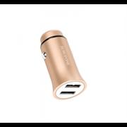 Автомобильные зарядное устройствоBZ4 Roader Dual USB Port Metallic Car Charger (2.4A) (Gold)