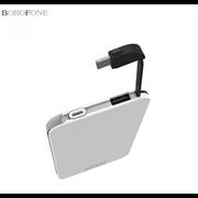 Внешний аккумулятор Borofone BT4 EZPower 10000mAh Polymer Power Bank (White)