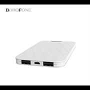 Внешний аккумулятор Borofone BT7 MaxPower 5000mAh Polymer Power Bank (White)