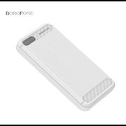 Внешний аккумулятор Borofone BT5 Xpower 10000mAh Polymer Power Bank (White)