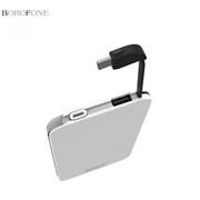 Внешний аккумулятор Borofone BT3 EZPower 5000mAh Polymer Power Bank (White)