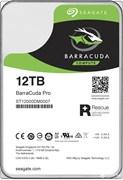 Внутренний жесткий диск HDD  Seagate 12TB  BarraCuda Pro, SATA-III, 7200 RPM, 256 Mb, 3.5''