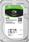 Внутренний жесткий диск HDD  Seagate  6TB  BarraCuda Pro, SATA-III, 7200 RPM, 256 Mb, 3.5''