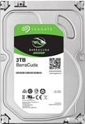 Внутренний жесткий диск HDD  Seagate  3TB  BarraCuda, SATA-III, 5400 RPM, 256 Mb, 3.5''