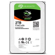 Внутренний жесткий диск HDD  Seagate  2TB  FireCuda, SATA-III, 7200 RPM, 64 Mb, 3.5''
