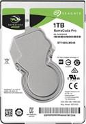 Внутренний жесткий диск HDD  Seagate   1TB  BarraCuda Pro, SATA-III, 7200 RPM, 128 Mb, 2.5''