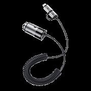 Автомобильное зарядное устройство Baseus Enjoy Together 2-in-1 Car Charger (CCALL-EL0G)