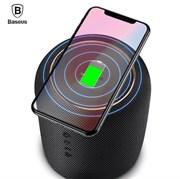 Беспроводная портативная колонка, с функцией беспроводной зарядки Baseus Encok Wireless charging Bluetooth speaker E50 , Черный (NGE50-B01)