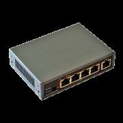 Комутатор ATIS PoE-1005-4P/250m (PoE-1006-4P/250m)
