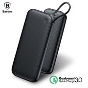 Внешний аккумулятор Baseus Powerful Type-C PD + QC3.0 Quick Charge Power Bank 20000 mAh Black (PPKC-A01)