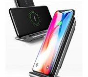 Беспроводная зарядка Baseus Vertical Desktop Wireless Charger (WXLS-01)