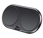 Беспроводная зарядка Baseus Dual Wireless Charger Черный WXXHJ-B01