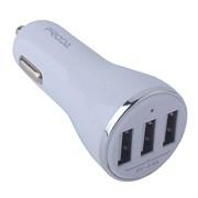 Автомобильное зарядное устройство Remax Proda Yuss car charger 3USB PD-C02 Белый