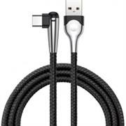Кабель Baseus  sharp-bird  mobile game cable  USB For Type-C 3A 1M , Черный (CATMVP-D01)