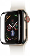 Защитное стекло Baseus Full-screen Curved Tempered Film , для Apple Watch series 4, 38mm, Черный ( SGAPWA4-С01 ) - копия