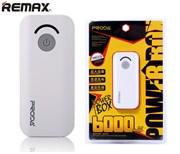 Внешний аккумулятор PRODA Jane Power Bank 6000mAh PPL-8 white