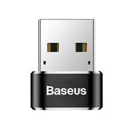 Переходник Baseus USB Male To Type-C Female Adapter Converter 5A (CAAOTG-01)