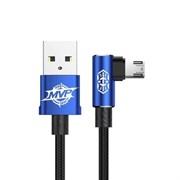 Кабель Baseus MVP Elbow Type Cable USB For Micro 1.5A 2M (CAMMVP-B03)