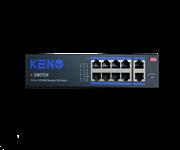 Коммутатор KENO KN-SW802POE+
