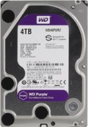 Внутренний жесткий диск Western Digital HDD WD 4Tb SATA-III  Purple (WD40PURZ)
