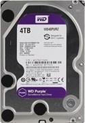 Внутренний жесткий диск Western Digital HDD WD 4Tb SATA-III  Purple (WD40PURZ)