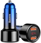 Автомобильное зарядное устройство Baseus Magic Series Dual USB+Type-C QC (CCMLC20C-03)
