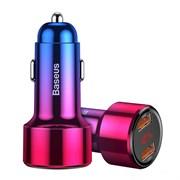 Автомобильное зарядное устройство Baseus Magic Series Dual USB+Type-C QC (CCMLC20C-09)