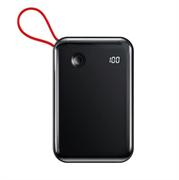 Внешний аккумулятор Baseus Mini S Digital Display 3A 10000mAh c Lightning кабелем (PPXF-B01)