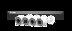 Комплект EZVIZ PoE NVR 4 канала (CS-BN3424A0-E30)